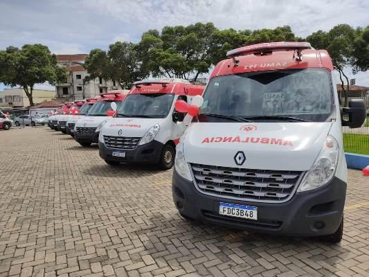 Ambulâncias do SAMU - Foto: SESA/ES